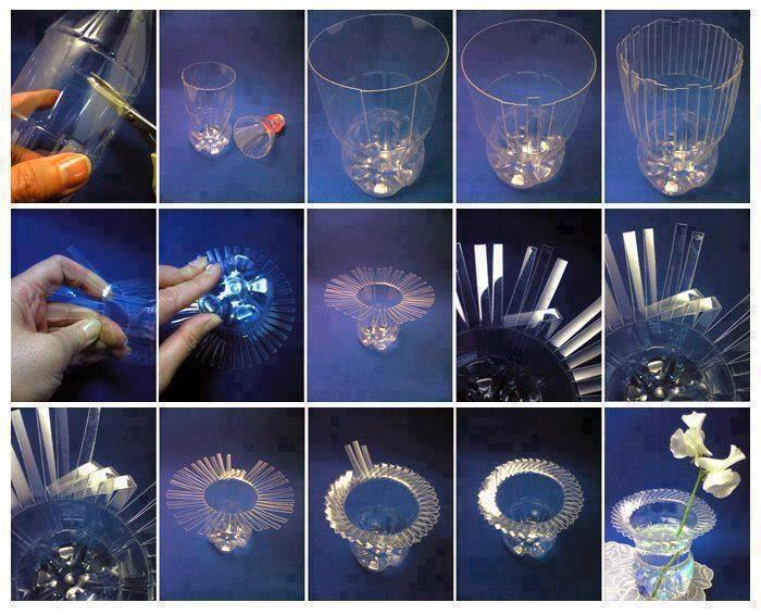 Make A Vase From Plastic Bottles Eco Trendy
