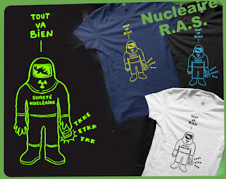 tout va bien madame la marquise sureté nucléaire forçats du nucléaire fukushima tchernobyl radioactivité mesure Compteur Geiger  tee-shirt t-shirt  flex www.rueduteeshirt.com