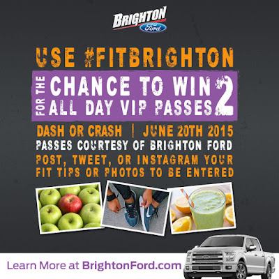 Win Two VIP ALL-INCLUSIVE Passes To Dash Or Crash Courtesy Of Brighton Ford