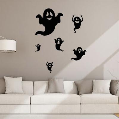 Decora tu hogar en Halloween con vinilos decorativos