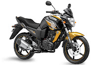 2013 Yamaha FZS Glory Gold