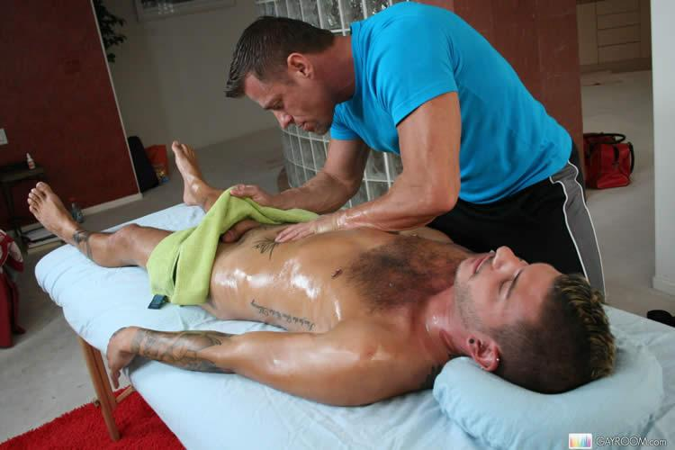 Men Getting Sex Massage