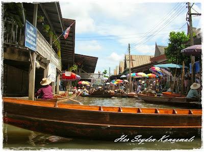 Bangkok, Yüzen Çarşı