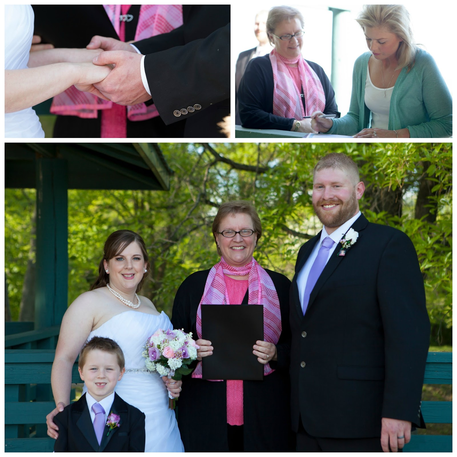 St Louis Wedding Liaison Blog: Bee Tree Park Overlook Wedding