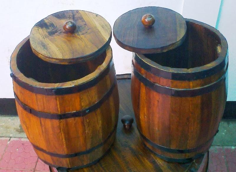 barrel kayu kecil