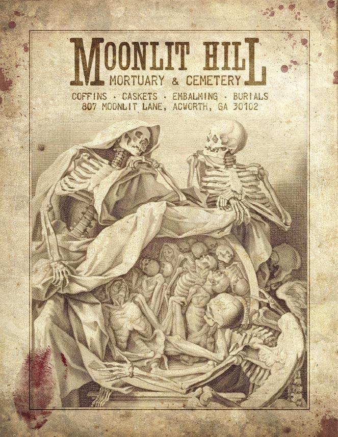 Halloween Hot Sauce: Moans from Moonlit Hill Mortuary: Halloween ...