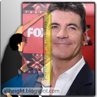 Simon Cowell Height - How Tall