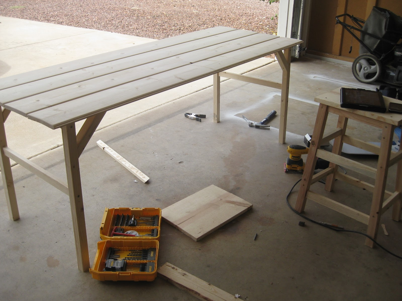 6 foot desk. Here\u0027s What I Ended Up Creating! 6 Foot Desk T