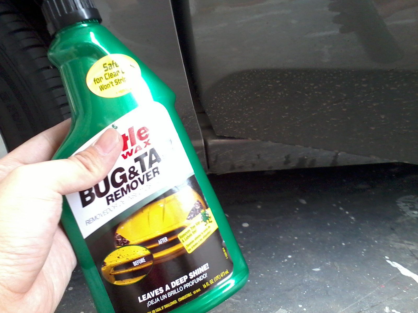 Tar and bug remover for cars droperes info