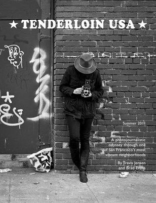 Fotografia della copertina della rivista di street photography Tenderloin USA