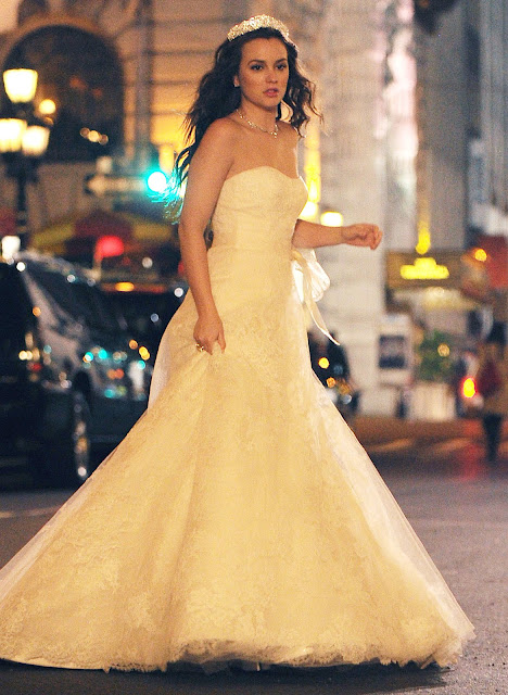 Fashion style how to look like blair waldorf in 7 steps for Blair waldorf wedding dress