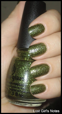 china glaze haunting collection 2011 it's alive