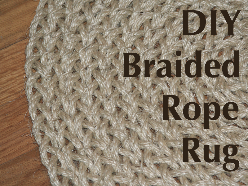 Braided Rope Rug