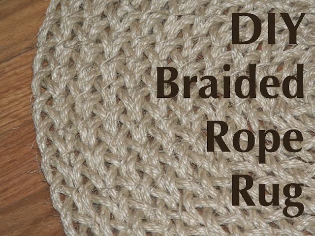 My Salvaged Home Braided Rope Rug