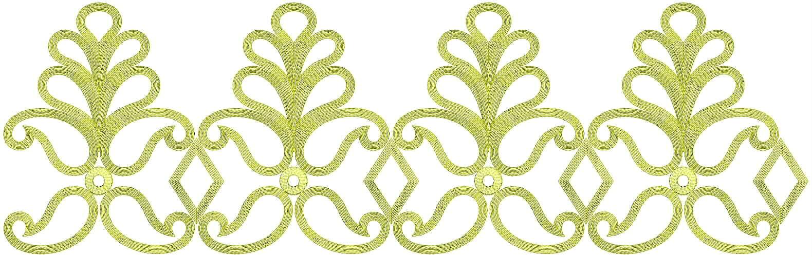 Lace Border Designs
