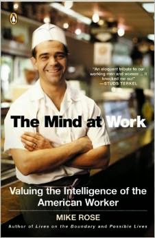 "Book cover of Mike Rose's ""The Mind at Work"""