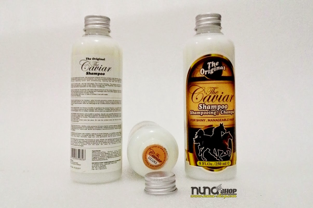Shampo Kuda – The Caviar Shampoo Asli Australia