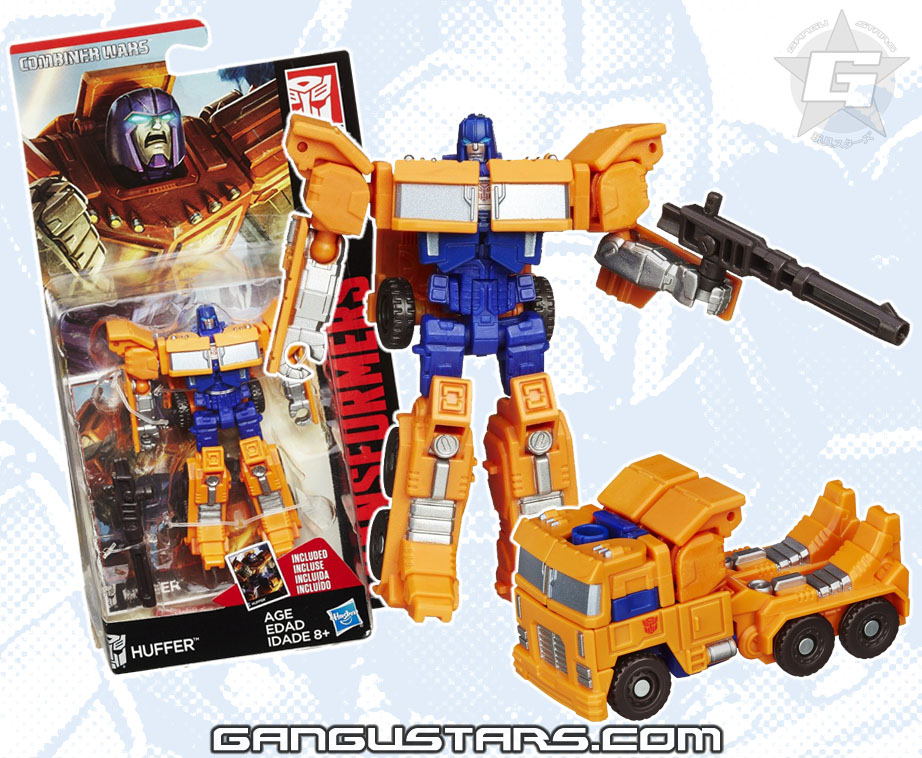 Transformers Huffer Combiner Wars Takara Hasbro new Transformers 2015 Optimus Prime redeco