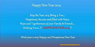 happy new year sms 2014 , happy new year messages