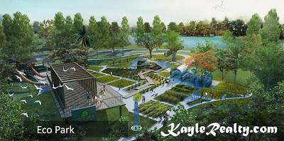 Fasilitas Eco Park Rumah CitraLake Sawangan