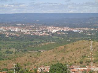 Foto panorâmica de Juazeiro do Norte.
