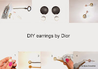 diy, diy earrings, diy fashion, diy blog, diy blogger, diy dior