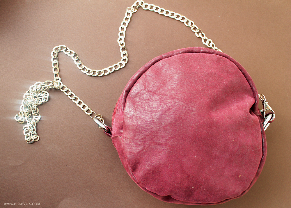 handmade couture clutch