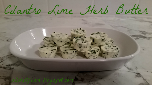 Silo Hill Farm: CILANTRO LIME HERB BUTTER