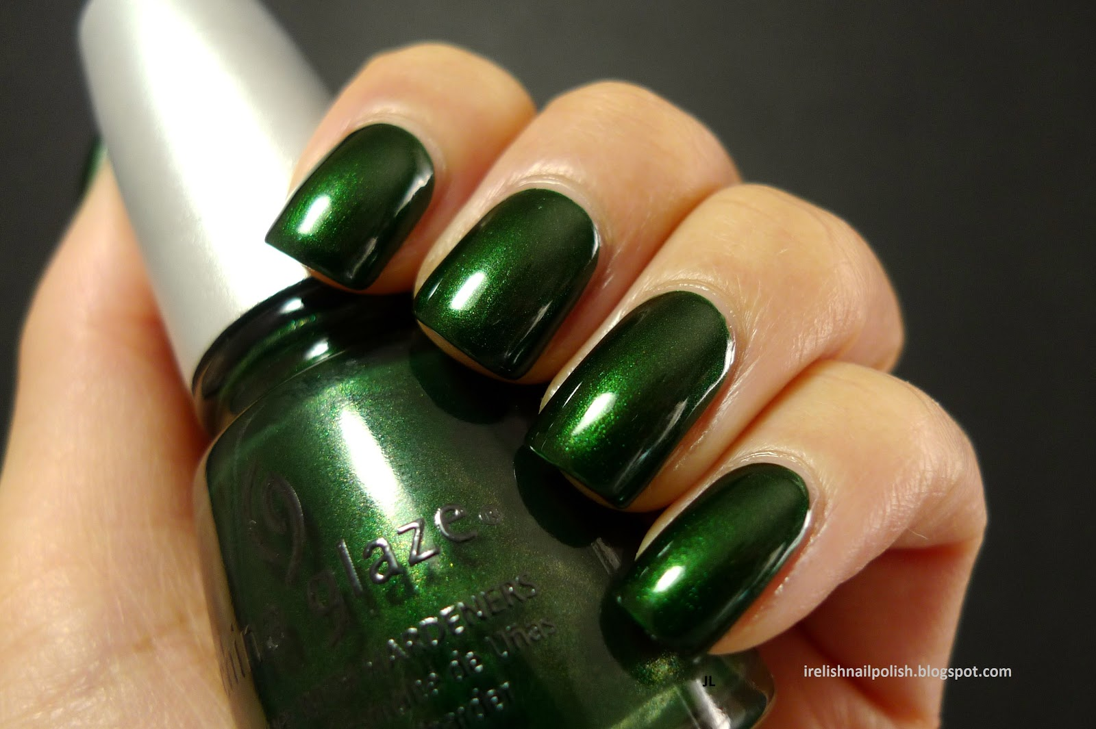 I relish nail polish china glaze jolly holly i relish nail polish nvjuhfo Gallery
