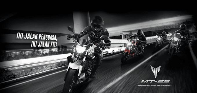 3 Pilihan Warna Yamaha MT-25 Cukup Rp 46 Juta