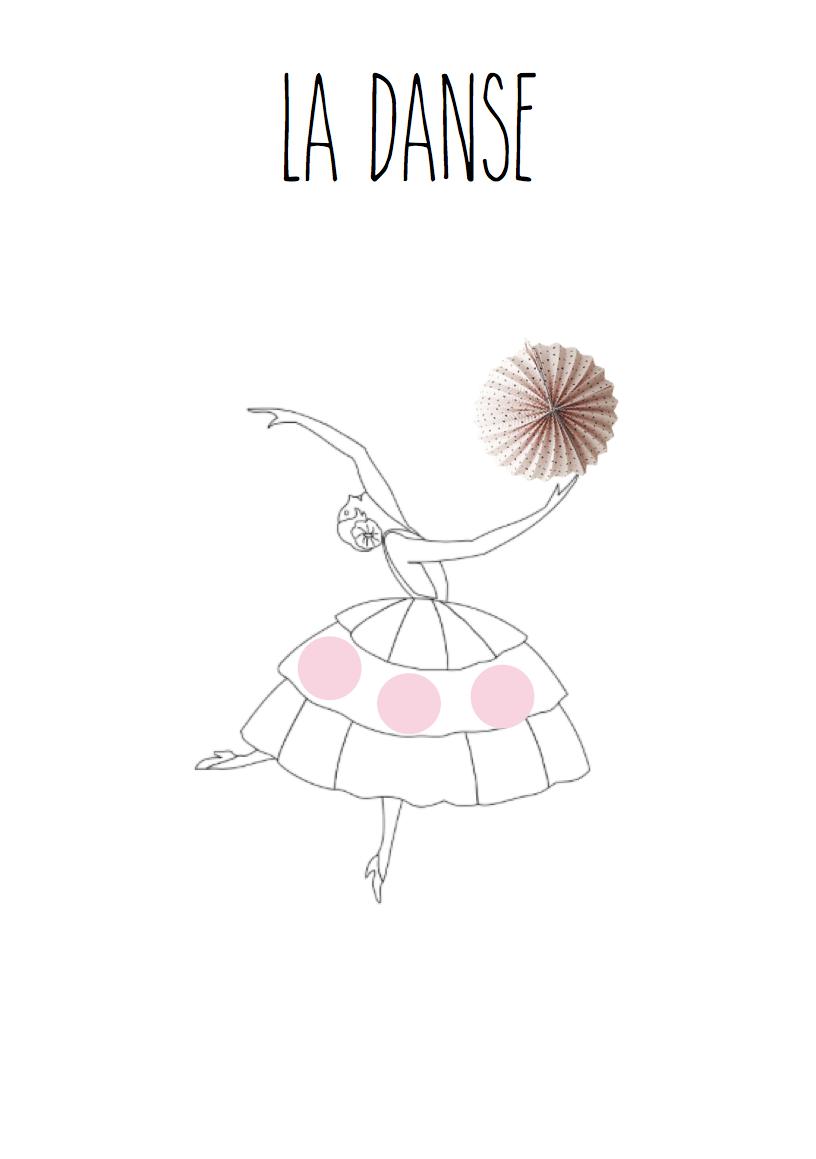 Coloriage Danseuse À Imprimer - Coloriage Danseuse Classique a Imprimer Gratuit