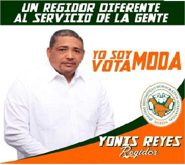 """YONIS REYES REGIDOR DE """"MODA"""""""