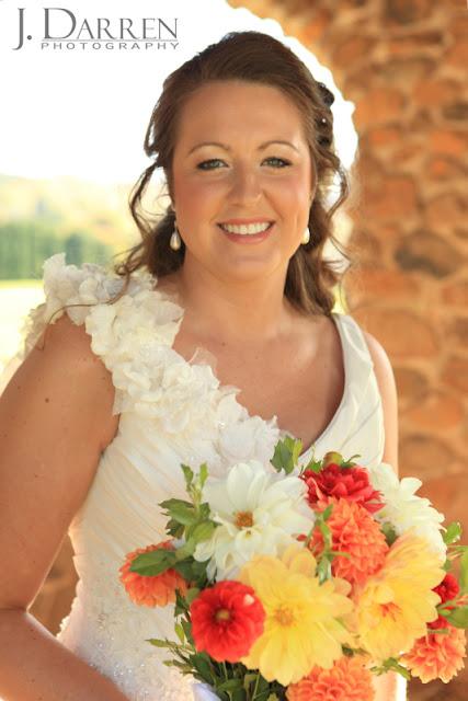 photos of the bride at a Bermuda Run Counrty Club Wedding in Bermuda Run North Carolina