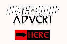 PLACE YOUR ADVERT HERE.