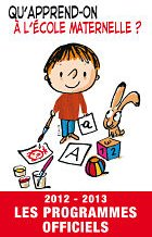 Programme cycle 1 maternelle