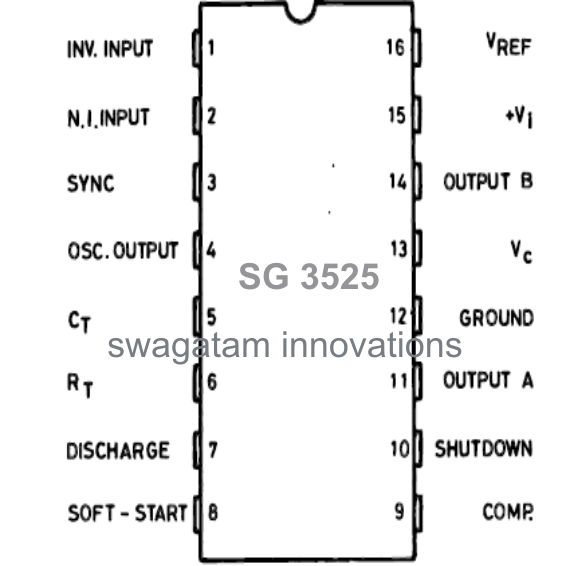 understanding sg3525 ic pin outs