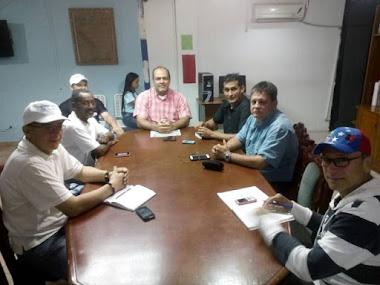 Alcalde Mezin Abou Assi y la junta directiva del concejo municipal sostuvieron importante reunión