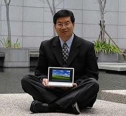 Jonney Shih dan Jerry Shen, pendiri Laptop Asus