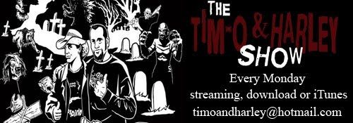 Keep It Creepy With The Tim-O and Harley Show!