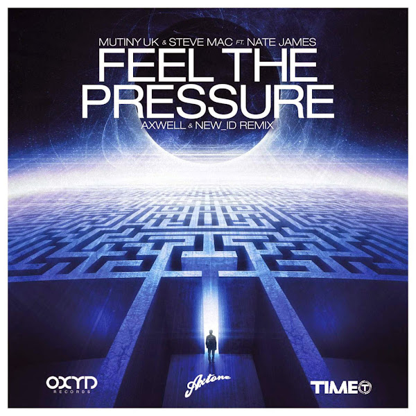 Steve Mac & Mutiny UK - Feel the Pressure (Let You Down) [feat. Nate James] - EP Cover