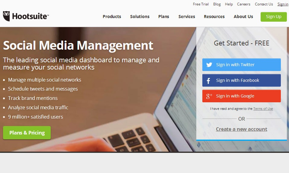 Hootsuite Social Media Management Solutions