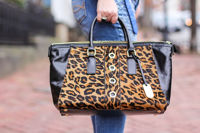 Milly Animal Print Bag
