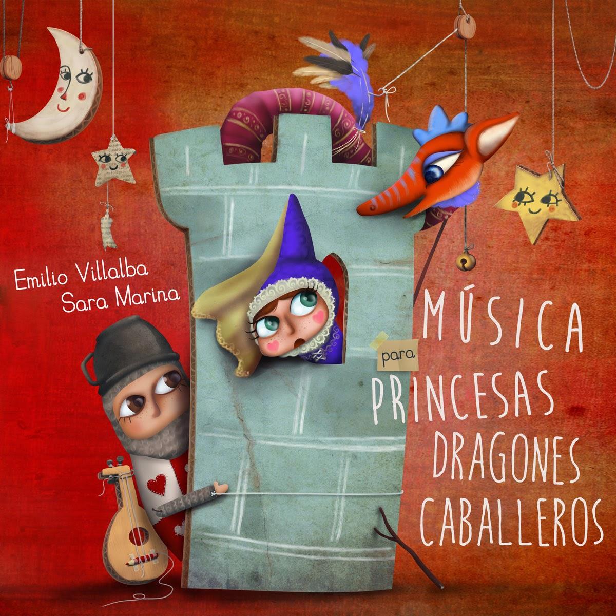 Disco infantil de música medieval