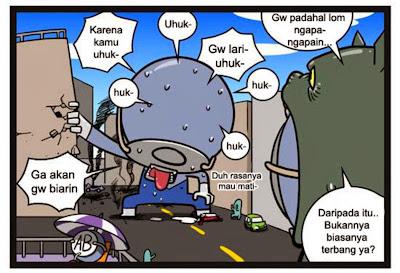 Komik Golongan Darah Bab 22 Pahlawan Kebenaran O Man
