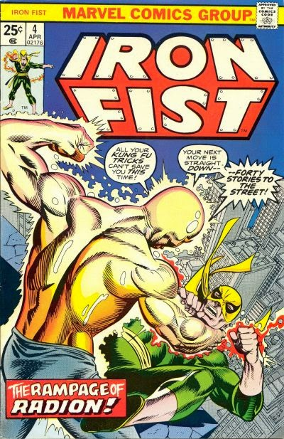 Iron Fist #4, Radion
