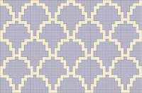 fish scales free cross stitch pattern