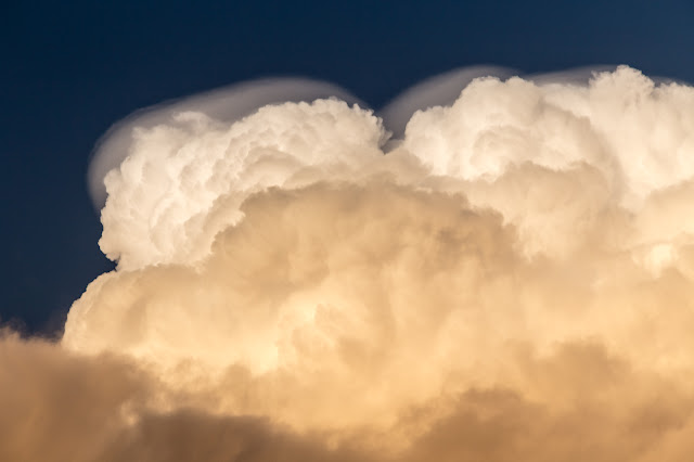 cumulonimbus calvus cloud close up