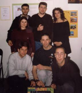 Fundadores de Eco Leganés. Febrero del año 2000