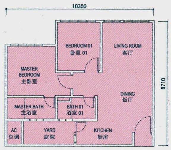 Floor Plan Feng Shui 平面图の风水: June 2014