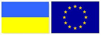Flag of Ukraine /  EU - Travel Ukraine Guide